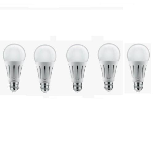 5 LAMPADE LED GOCCIA A60 ATTACCO E27 LAMPADA 18WATT CLASSE A+ LAMPADINA PEGASO