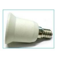 ADATTATORE PORTALAMPADA LAMPADA LAMPADINA E14 A E27 DA PICCOLO A GRANDE
