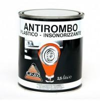 ANTIROMBO VERNICE PER SOTTOSCOCCA LT 2.5 PLASTICO INSONORIZZANTE LASAV
