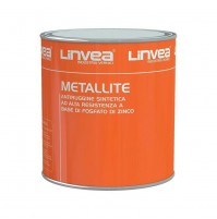 ANTIRUGGINE METALLITE 2,5 LT LINVEA ANTI RUGGINE ANTIRRUGGINE VARI COLORI 2500ML
