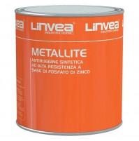 ANTIRUGGINE METALLITE 500 ml 0,5 LT LINVEA ROSSA ANTI RUGGINE ANTIRRUGGINE