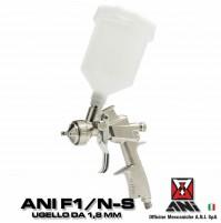 Ani F1/N-S 11/A 1.8 Aerografo Pistola A Spruzzo Per Verniciatura Professionale