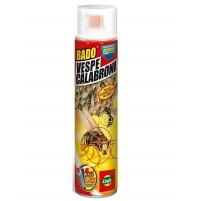 BADO VESPE CALABRONI spray INSETTICIDA ELIMINA NIDI ANTINSETTI 600 ml LINFA 6224