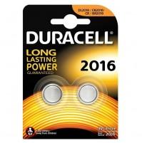 BATTERIA 3V DURACELL AL LITIO DL2016 2016 BL.2