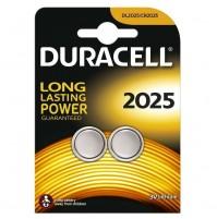BATTERIA DURACELL CR2025 CR 2025 PEZZI 2 LONG LASTING POWER 3V LITHIUM BATTERIE
