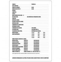 CARTELLO SEGNALETICO TARGA TABELLA PVC 50x70 CONCESSIONE EDILIZIA PER CANTIERE