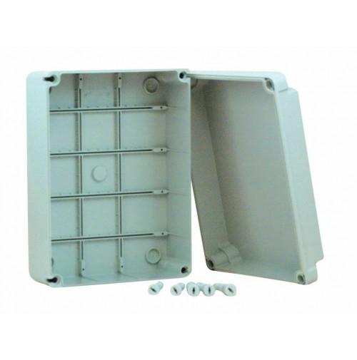 CASSETTA SCATOLA STAGNA 460x380x120 mm PARETI LISCE IP66 DERIVAZIONE 015.A.PL