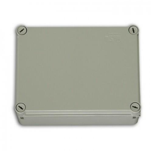 CASSETTA SCATOLA STAGNA STAGNO 190x140x75mm PARETI LISCE IP66 DERIVAZIONE PARETE