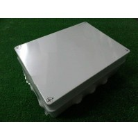 CASSETTA SCATOLA STAGNA STAGNO 300x220x120mm CON PASSACAVI IP65 DERIVAZIONE 012A