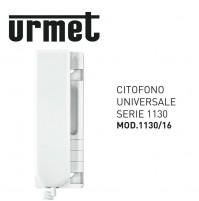 CITOFONO UNIVERSALE UTILIZZABILE SU IMPIANTI 4 + 1 1 + N1130/16 URMET