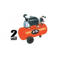 Compressore aria 50 litri coassiale lubrificato 2 Hp 8bar FU1503 AXEL