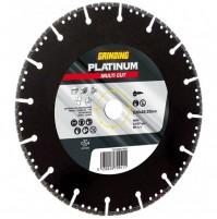 DISCO DIAMANTATO Platinum Multi Cut UNIVERSALE 230 mm PIASTRELLE CEMENTO FERRO