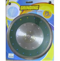 DISCO DIAMANTATO x gres porcellanato PIASTRELLE 230 mm GRINDING PL CON FLANGIA