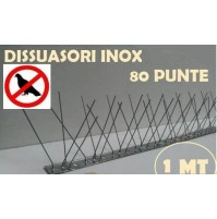 DISSUASORE PER PICCIONI CM.100 80 SPILLI PUNTE PER METRO proteggimuretto