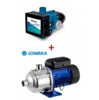 ELETTROPOMPA POMPA 3HM03P05 LOWARA HP 0,67 + presscontrol GENYO 16A/R15-30 3HM03