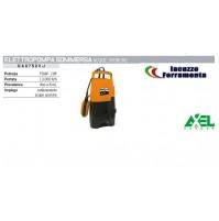 ELETTROPOMPA POMPA SOMMERSA CORPO IN PLASTIC PER ACQUE SPORCHE 750 WATT 1HP AXEL