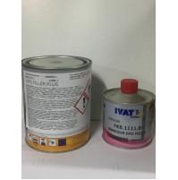 EPOFILLER PRIMER EPOX BICOMPONENTE GRIGIO 1 LT + CATALIZZATORE 0,250 LT IVAT