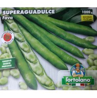FAVA FAVE SUPERAGUADULCE PROD. MAROCCO GIARDINO ORTO KG. 1 - GR. 1000 L'ORTOLANO
