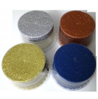 GLITTER IN GEL 250ml ADDITIVO PER IDROPITTURA DECORATIVO ORO ARGENTO BRONZO BLU