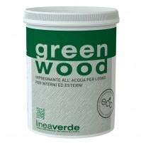 GREEN WOOD IMPREGNANTE FINITURA ALL'ACQUA VERNICE X LEGNO INT. EST BIANCO 2,5 LT