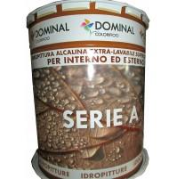 IDROPITTURA PITTURA ALCALINA EXTRA LAVABILE INTERNO ESTERNO DOMINAL SERIE A 13 L
