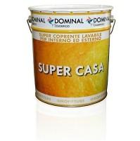 IDROPITTURA PITTURA SUPER COPRENTE LAVABILE DOMINAL SUPER CASA 5 LT