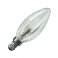 LAMPADA ALOGENA LAMPADINA OLIVA 28 WATT 28W E14 CHIARA PIGNA ILLUMINAZIONE LUCE