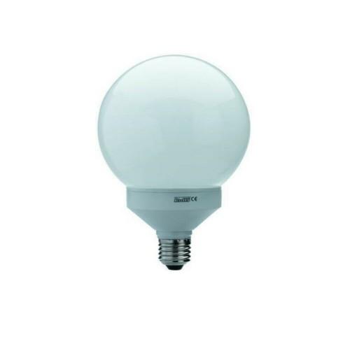 LAMPADA LAMPADINA MINI SFERA PALLA GLOBO 15W 15 75W E27 LUCE CALDA RISPARMIO