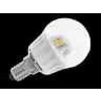 LAMPADA LAMPADINA SFERA LED BEGHELLI ECO LED 4W 300 LUMEN E14 4000K