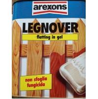 LEGNOVER FLATTING GEL PER LEGNO FUNGICIDA VERNICE NON COLA 750 ML AREXONS COLORI