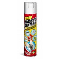 LINFA BADO mosche zanzare spray INSETTICIDA 400 ml antizanzare insetti volanti