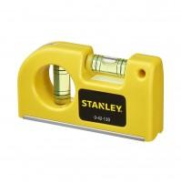 LIVELLA  LIVELLE TASCABILI 0-42-130 83x12xH45MM BASE MAGNETICA 8,7 CM STANLEY