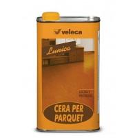 LUNICA VELECA Cera d'api liquida per parquet 750ml LUCIDA E PROTEGGE LEGNO