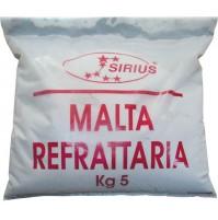 MALTA CEMENTO REFRATTARIA REFRATTARIO KG. 5 PER STUFE CAMINI