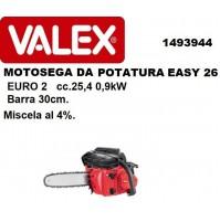 MOTOSEGA DA POTATURA 25,4 cc CATALIZZATA LAMA 30 cm EASY 26 VALEX ALBERI