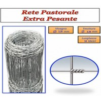 MT. 50 RETE METALLICA EXTRA PESANTE RECINZIONE PECORE PASTORALE ANIMALI ALTEZZA