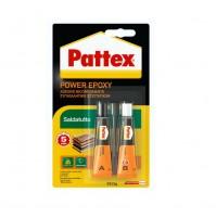 PATTEX POWER EPOXY SALDATUTTO ADESIVO BICOMPONENTE INCOLLA SALDA RIPARA 2 x 12 g