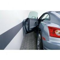 PROTEZIONE ADESIVA IN GOMMA GARAGE AUTORIMESSA BOX fascia PORTIERE auto 20x200