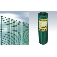 RETE ELETTROSALDATA esaplax 12x12 Cavatorta H. 100 - 25 mt PLASTIFICATA VERDE
