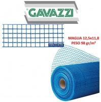 RETE IN FIBRA DI VETRO INTONACO Gavazzi 0098-A 12,5x11,8mm PESO 98gr/mq blu