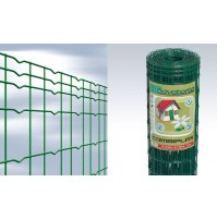 RETE METALLICA ELETTROSALDATA combiplax Cavatorta H.120 - 25m PLASTIFICATA VERDE