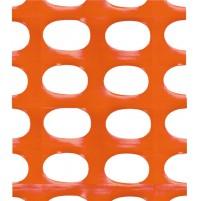 RETE PER CANTIERE ARANCIO H. 120 x 50 MT TENAX RECINZIONE CANTIERE IN PLASTICA