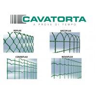 Rete metallica plastificata per recinzione CAVATORTA Made in ITALY - ROTOLO 25 m