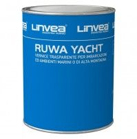Ruwa Yacht VERNICE TRASPARENTE ALCHILICA ULTRA RESISTENTE 1 lt LINVEA BARCHE