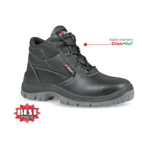 SCARPA SCARPE ANTINFORTUNISTICA ALTA S3 MOD SAFE U POWER
