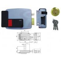 SERRATURA ELETTRICA ELETTROSERRATURA APPLICARE 11610 CISA 50 mm DX PORTE LEGNO