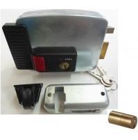 SERRATURA ELETTRICA ELETTROSERRATURA APPLICARE 11731 CISA 50 mm SX PORTE FERRO