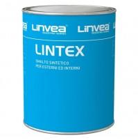 SMALTO VERNICE nero 130 ML 750 LT 0,750 PER ESTERNI E INTERNI LINTEX LINVEA