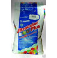 STUCCO ULTRACOLOR PLUS KG. 5 MAPEI  PER FUGHE COLORE 100 BIANCO  DA 2 A 20 mm