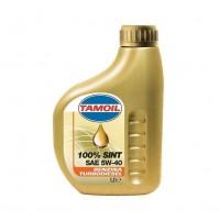 TAMOIL 100% SINT SAE 5W40 olio motore benzina diesel 1 lt SINTETICO